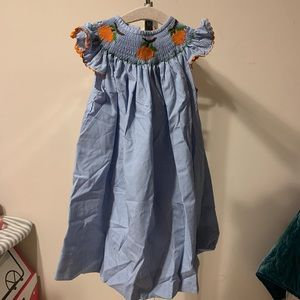 Oranges Smock Dress
